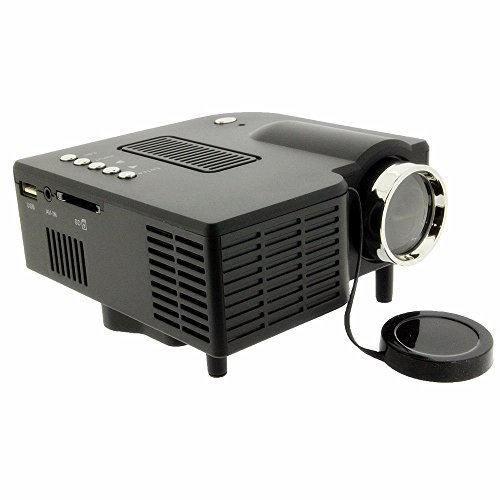 Best hotso portable hd led projector home theater pc for Usb projector reviews