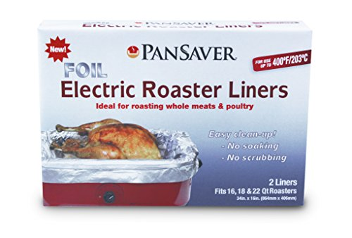 PanSaver 45950 Foil Electric Roaster Liner (Pansaver Pan Liners compare prices)