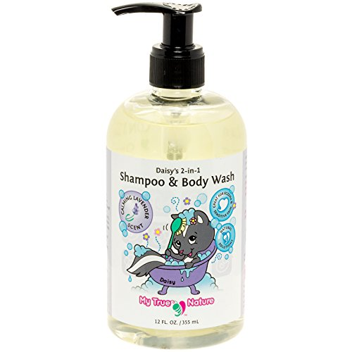 - Natural Baby Shampoo Body Wash - Daisy's 2-in-1 Shampoo/Body Wash for Sensitive Skin - Lavender, 12 oz