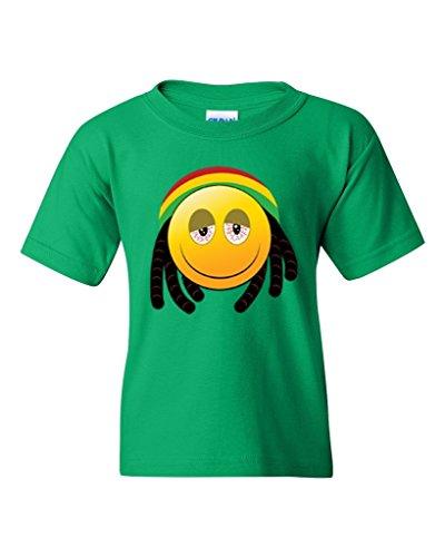artix-happy-face-rasta-unisex-youth-t-shirt-tee-youth-medium-green