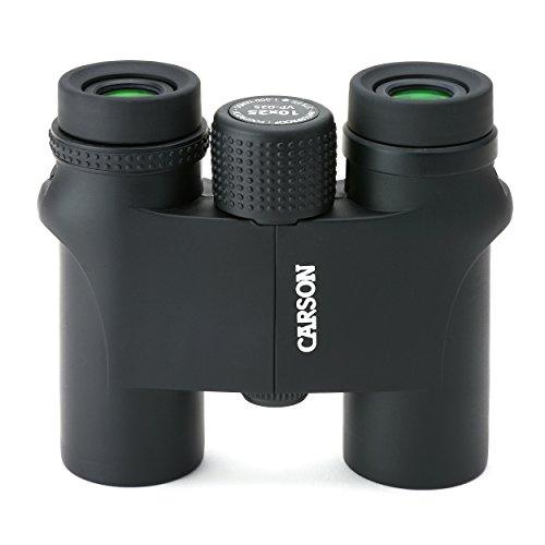 Carson VP Series Compact 10x25-mm Waterproof and Fog Proof Binoculars in Black (VP-025)