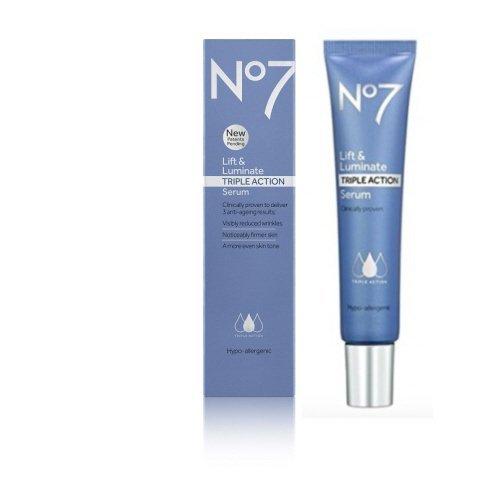 No7 Lift and Luminate Triple Action Serum 1 -