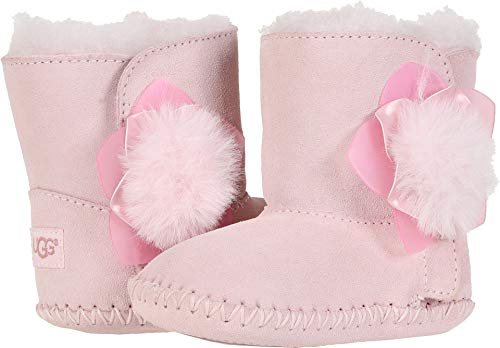 UGG Girls' I I Cassie Cactus Flower Fashion Boot Seashell Pink 02/03 M US Infant (Pink Ugg Boots Baby)