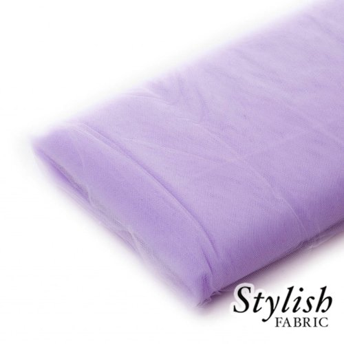 Bright Lilac Tulle Fabric - 40 Yards Per Bolt]()