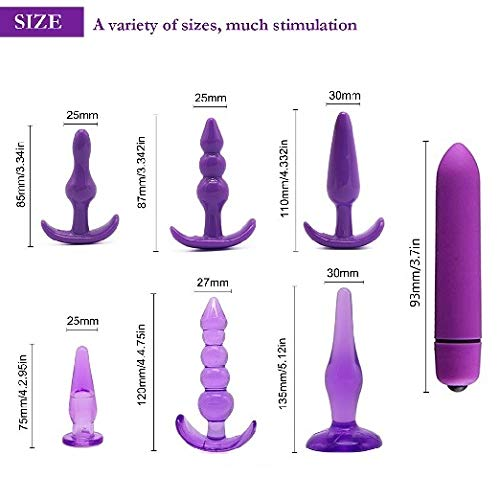 BooLne Powerful Silicone Plug VibratingToys Great for Beginners A-01