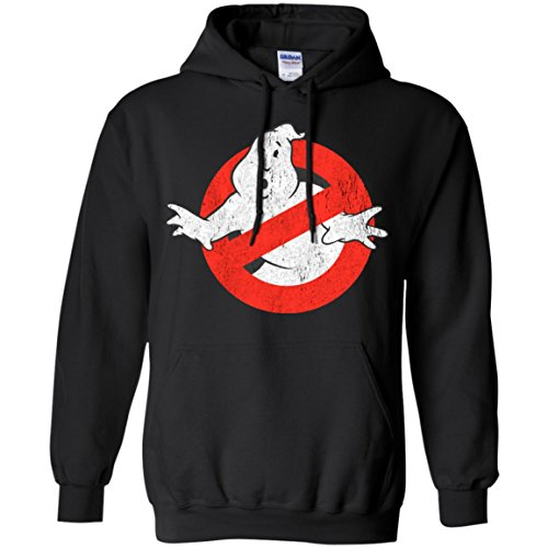 Ghostbusters Original Logo Pullover Hoodie in Six Colors. S to 5XL