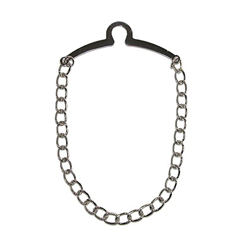 - Competition Inc. Men's Link Style Tie Chain, Silver