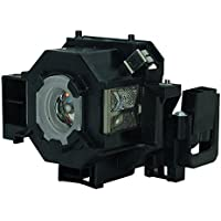 AuraBeam Professional Epson ELP LP42 / V13H010L42 Projector Replacement Lamp with Housing (Powered by Osram)