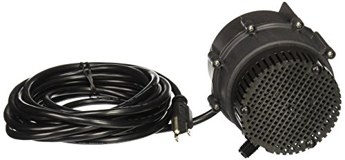 Little Giant 527176 NK-2 115 Volt 325 GPH Oil-Filled Small Submersible Pump