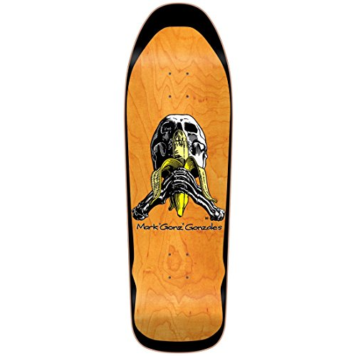 Blind Skateboard Deck Re-Issue Gonz Skull and Banana SCREEN PRINT 9.875