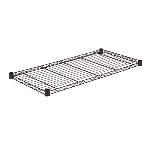 Honey-Can-Do SHF350B1836 Steel Wire Shelf for Urban Shelving Units, 350lbs Capacity, Black, 18Lx36W