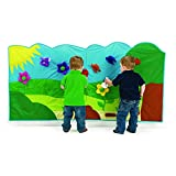 Excellerations Soft Garden Wall Mural Classroom Interactive Wall 14 Pieces (72'' x 36'')