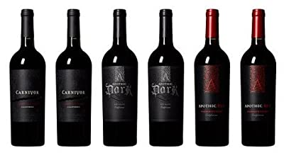 King of the Reds Apothic and Carnivor Wine Mixed Pack 6 x 750mL by The Barrel Room