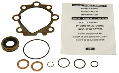 (ACDelco 36-348376 Professional Power Steering Pump Seal Kit with Bushing, Gasket, and)
