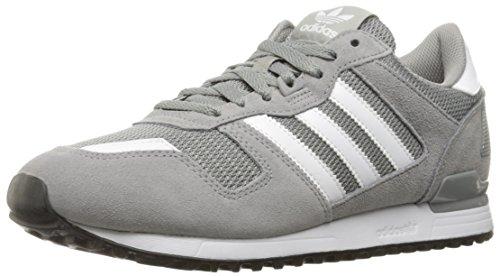 adidas Originals Herren ZX 700 Lifestyle Runner Sneaker Solid Grau / Weiß / Schwarz