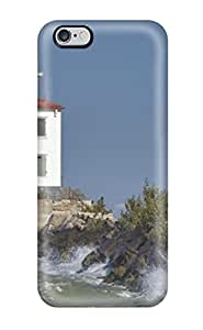 Premium Tpu Lighthouse Cover Skin For Iphone 6 Plus