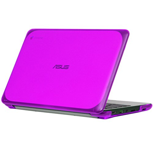 iPearl-mCover-Hard-Shell-Case-for-116-ASUS-Chromebook-C202SA-series-laptop-Purple