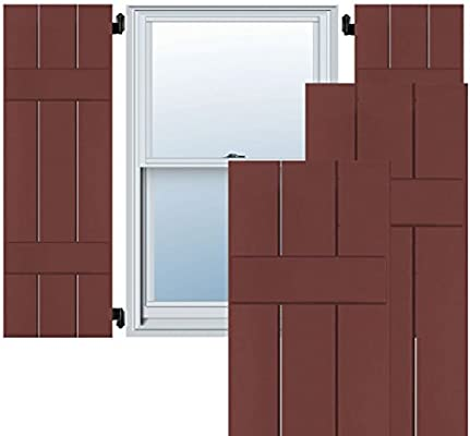 Amazon com: Ekena Millwork EB0110500X031250WCR Exterior Western Red