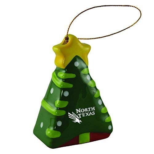 University of North Texas-Christmas Tree Ornament