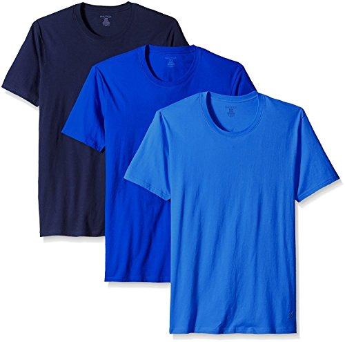 Nautica Mens Pack Crew T Shirt