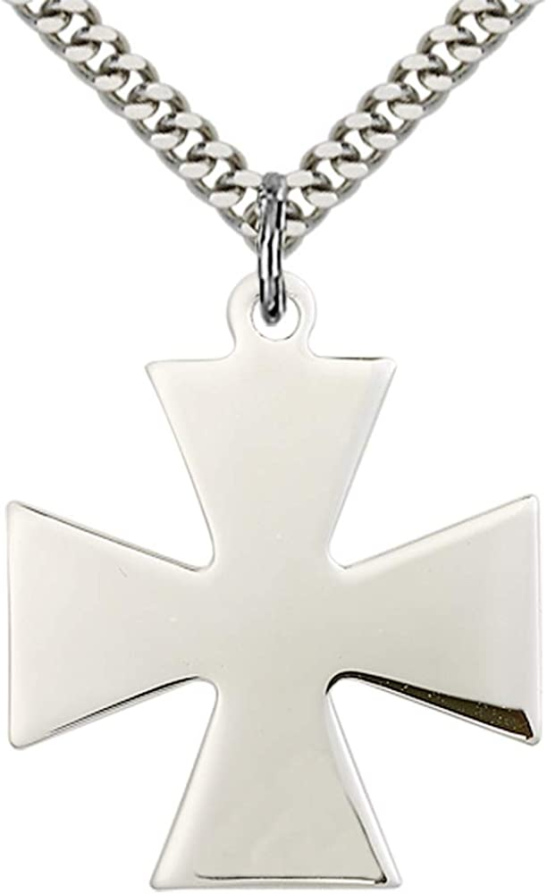 Sterling Silver 925 Texas Pendant 24 mm Jewels Obsession Texas Pendant