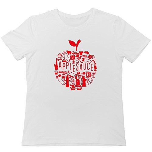 Applesauce Shape Factors T-shirt White For Men
