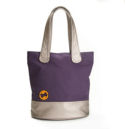 Laptop Tote for Women & Canvas Purse by CANOPY VERDE, Indigo ()
