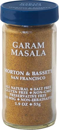 MORTON & BASSET Garam Masala Seasoning, 1.9 OZ