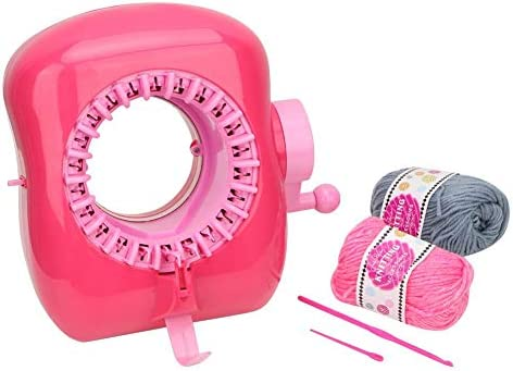 ZALING 1 Pcs Hat Scarve Scarf Stock DIY Knitting Loom ABS Weaving Tools Light Brown