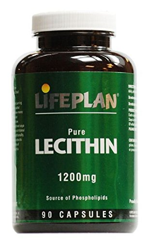 (10 PACK) - Lifeplan Lecithin 1200Mg Capsules | 90s | 10 PACK - SUPER SAVER - SAVE MONEY