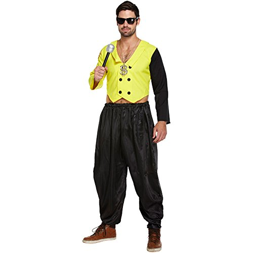 80's Rap King Adult Dressing Up Costume (Dressing Up Adults)
