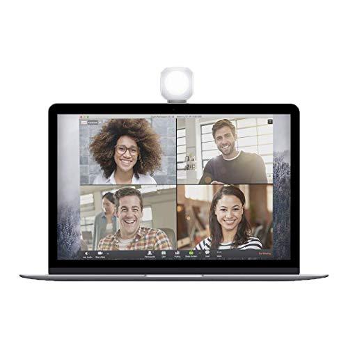 Lume Cube - Lighting Kit for Video Conferencing, LED Light Kit for Webcams, Zoom, Skype, FaceTime, Live Streaming, Business Calls on Laptops, Phones, Tablets
