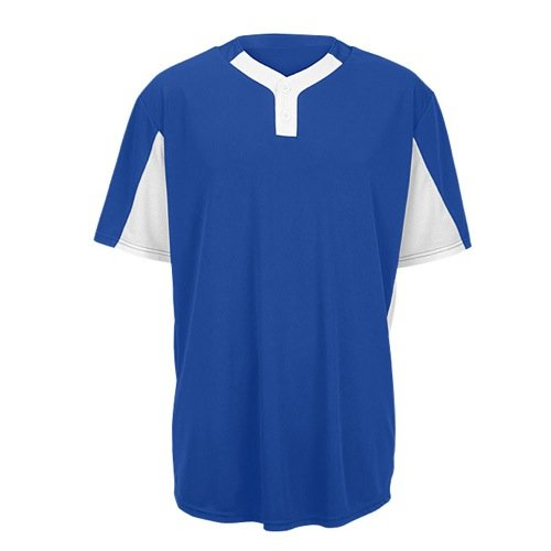 Majestic Youth Premier Eagle 2-Button Colorblock Jersey