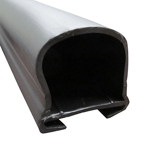 1-11/16 x 1-11/16 C-Channel bulb seal for RV Slide Outs - Sold and Priced Per Foot - Steele Rubber Products 70-3834-99