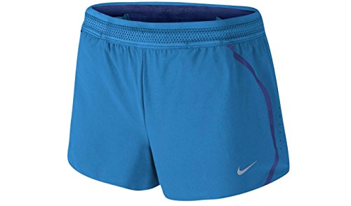 Nike Womens Aeroswift Race Shorts Licht Foto Blau (719564-435) / Deep Royal Blue