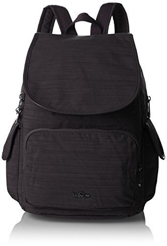 Kipling Damen City Pack Rucksack, 32x37x18.5 cm Dazz Black