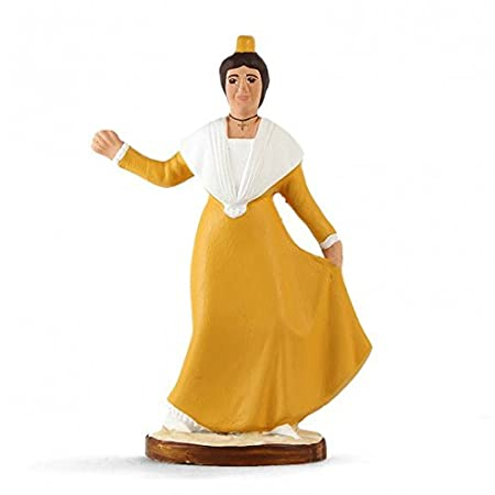 Santons De Danseuse Robe Arterra Provence Farandole Fin hodstrCxBQ
