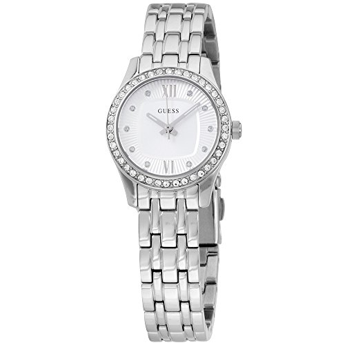 Guess Analog Silver Dial Stainless Steel Ladies Watch W0762L1