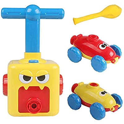 Kids Balloon Car Toy, Educational DIY Toys Inertial Power Car Perfect Gift for Toddlers Children Early Education Gift for Baby Children's Day : Baby