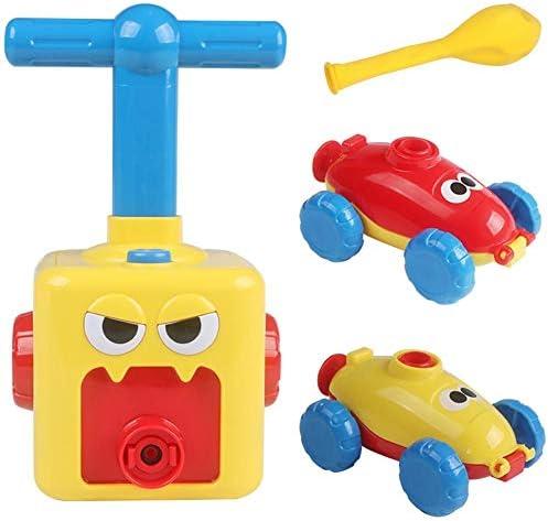 風船車+ 6/12風船子供の誕生日パーティーバッグフィラーおもちゃゲーム賞を好む子供の風船車のおもちゃ教育DIYおもちゃ幼児用幼児パワーカー幼児教育