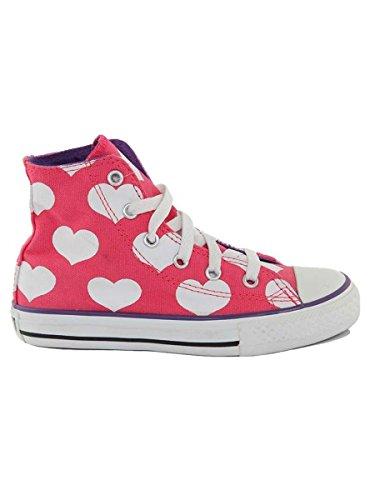 Converse - Zapatillas de Material Sintético para niño * fucsia