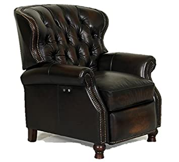 presidental ii leather wing power electric recliner chair by - Electric Recliner Chairs
