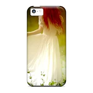 Cynthaskey Iphone 5c Hybrid Tpu Case Cover Silicon Bumper A Walk In The Woods