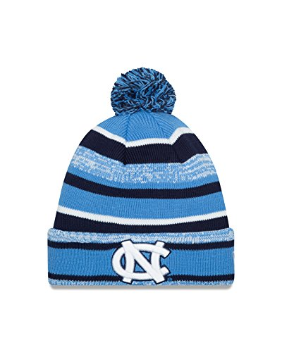 (New Era NCAA North Carolina Tar Heels College NE14 Sport Knit Beanie, One Size, Blue)