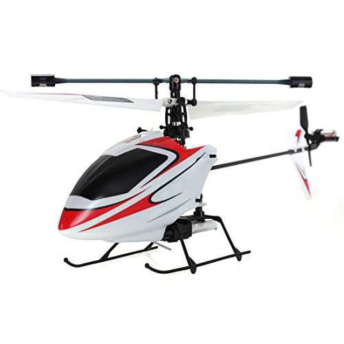 4CH 2.4GHz Mini Radio Single Propeller RC Helicopter Gyro V911 RTF Red (Mini Radio Single Propeller)