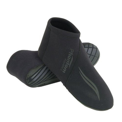 Deep See 3mm Skin Smooth Neoprene Fin Socks, SM (See Deep Fins)