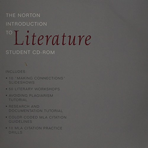 The Norton Introduction to Literature Student CD-ROM