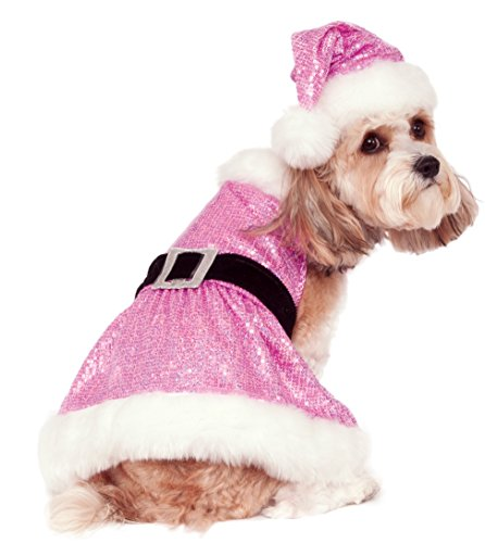 Rubie's Sequin Mrs. Claus Pet Costume,
