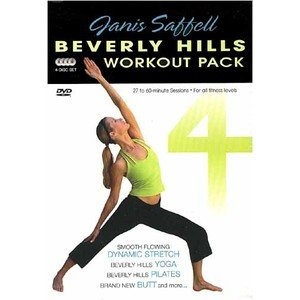 Beverly Hills Workout Pack Janis Saffell by