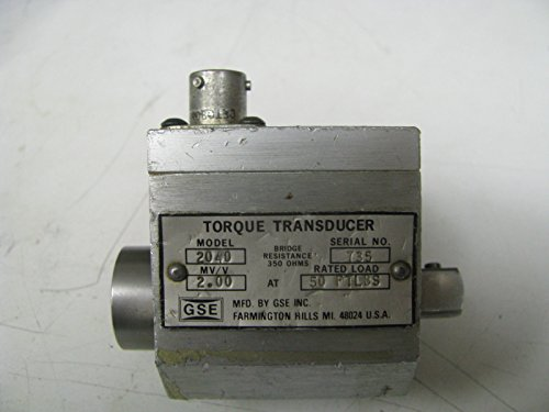 Torque Socket Transducer - GSE Socket Wrench Torque Transducer 50 ft Lbs - GSE7